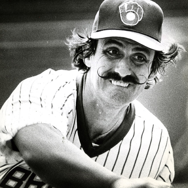Rollie Fingers has kept the Brewers in the AL East pennant race all season long. 1981 photo ---- Milwaukeee Journal Sentinel files