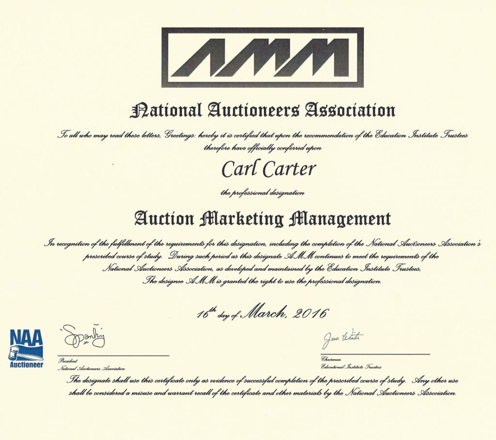 amm-certificate