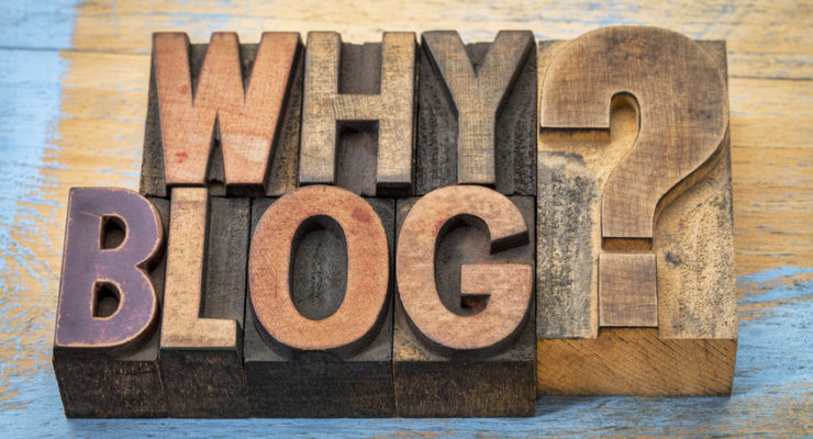 Why blog question - text in vintage letterpress wood type printing blocks