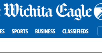 Major Wichita Eagle coverage on upcoming auction in rural Oswego